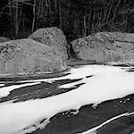 Rocks, Ice and Snow, Torrey Pond